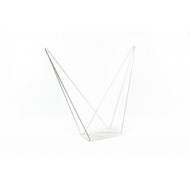 pied de table double 71cm hairpin legs la fabrique des pieds. Black Bedroom Furniture Sets. Home Design Ideas