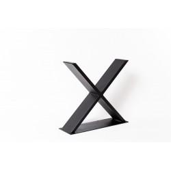 Pied De Table 40cm Croix La Fabrique Des Pieds