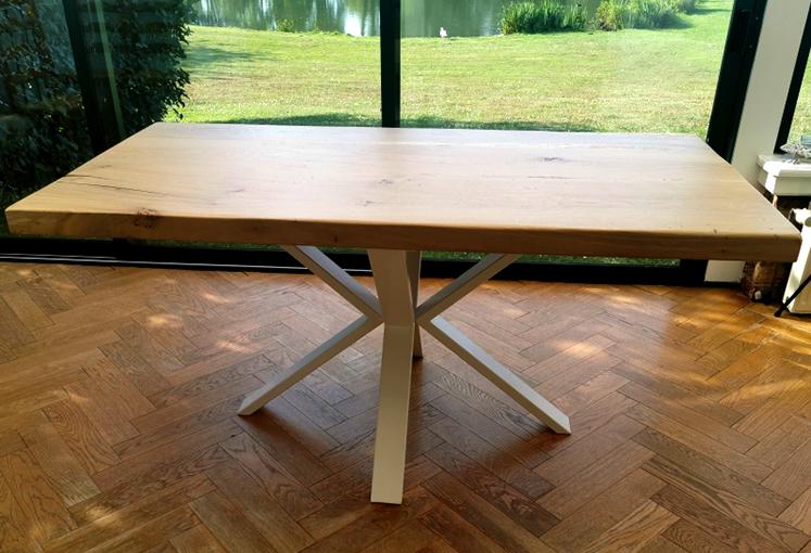 table rectangulaire et scandinave
