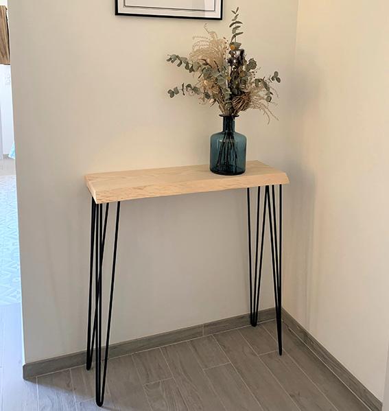 console minimaliste