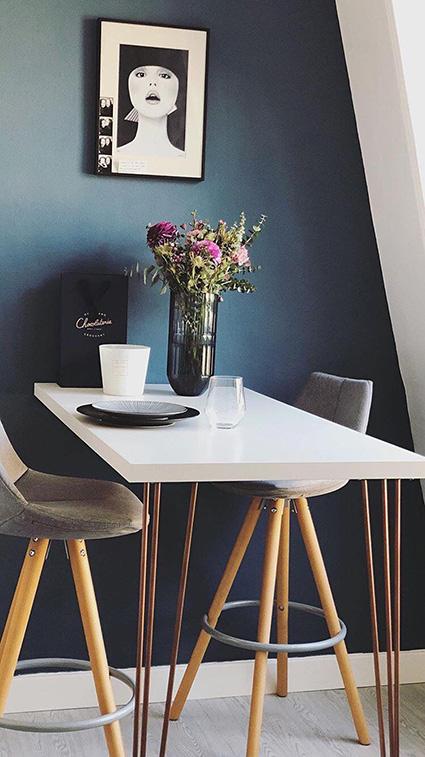 table haute colorée 2