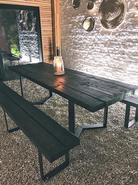 Diy table à manger avec bastaings résultat 1