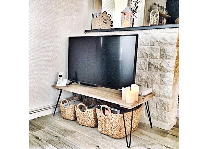 Meuble tv style banc