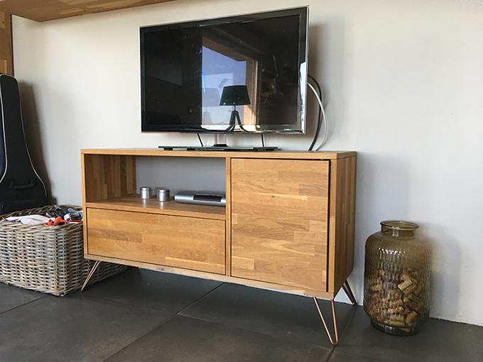 Surélever un meuble TV existant