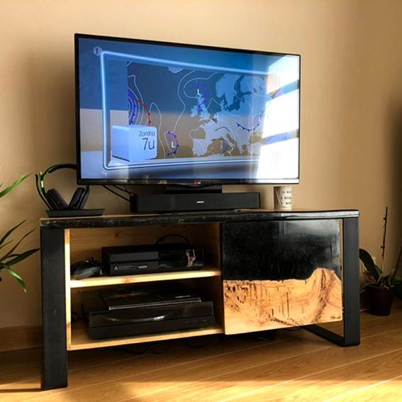Meuble tv en résine 1